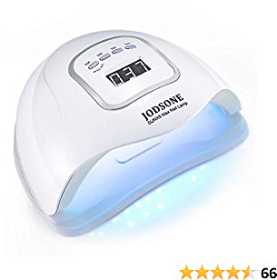 JODSONE LED Nail Lamp 80W, Nail Dryer for Gel Polish, Gel Nail Lamp with 45 Light Beads, .Led Nail Light for Gel Nails with Automatic Sensor & 4 Timers