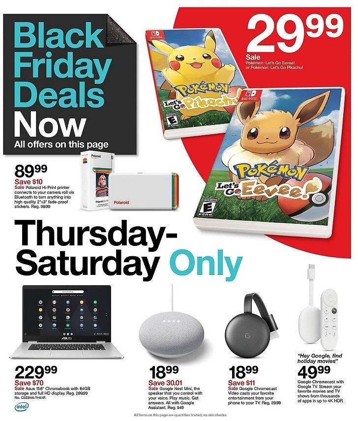 3 Days of Black Friday Deals