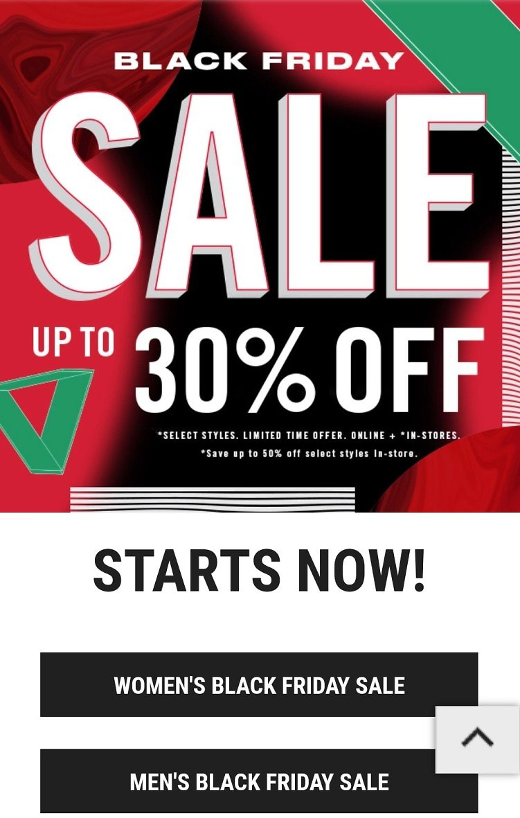 Journeys Black Friday 2020 + UP to 50% Off