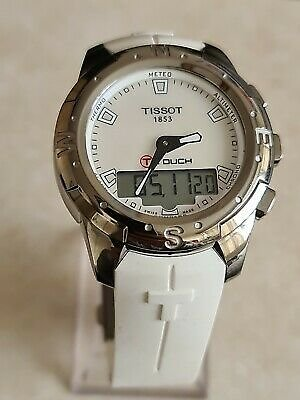 TISSOT-T Touch II White Mother of Pearl Ladies Watch T047220A