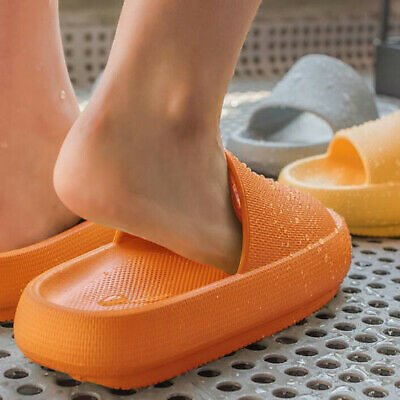 Thick Platform Slippers Women Indoor Bathroom Slipper Soft Home Floor Slides New