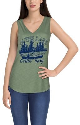Natural Reflections Gettin' Tipsy Tank Top for Ladies   Bass Pro Shops