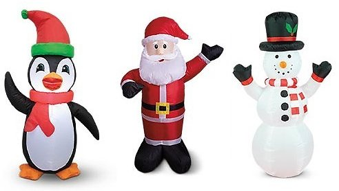 Merry Moments Inflatable Holiday Decor (Mult. Options)