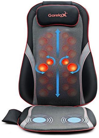 Shiatsu Neck/Back Massage Seat Cushion