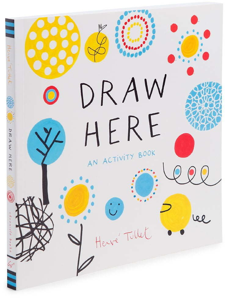 'Draw Here: An Activity Book'