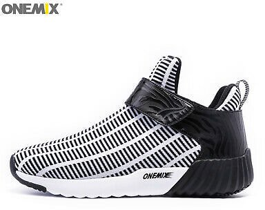 ONEMIX Winter Running Shoes For Men Outdoor Walking Trainers Athletic Sneakers