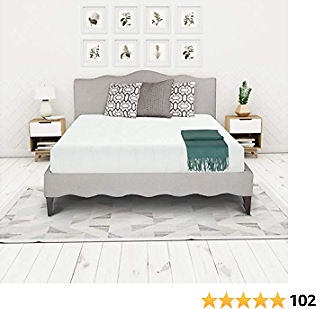 Irvine Home Collection 1500 Bed Mattress Conventional, California King, White