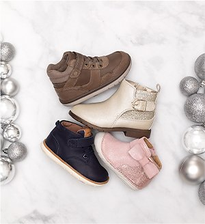 50% Off Stride Rite Holiday Must-Haves + Free Gift $70 Purchase