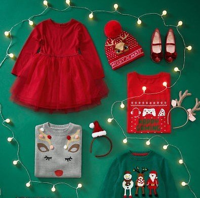 H&M Kids' Holiday Shop from $2.79