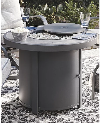 Donnalee Bay Outdoor Fire Pit Table | Ashley Furniture HomeStore