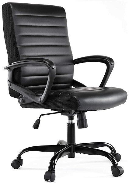 Home Office Chair, Computer Desk Chair Ergonomic Executive Chair, Black