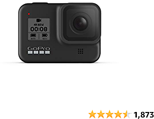 GoPro HERO8 Black - Waterproof Action Camera with Touch Screen 2020