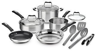 Cuisinart Stainless Steel 12-Pc. Cookware Set ON SALE