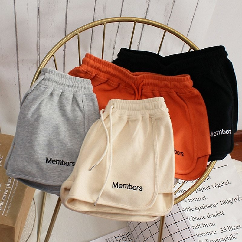 US $3.25 51% OFF All Match Women Short Pant Summer Casual Lady Loose Solid Leisure Female Workout Waistband Skinny Stretch Shorts Shorts  - AliExpress