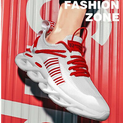 Men's Sneakers Jogging Walking Sports Shoes Athletic Tennis Running Shoes Gym