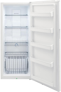 Frigidaire 13 Cu. Ft. Frost Free Upright Freezer in White with Reversible Door-FFFU13F2VW