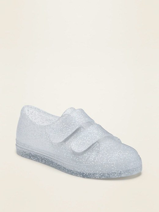 Unisex Secure-Strap Jelly Sneakers for Toddler