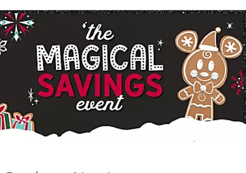 Up to 40% Off Magical Savings Event