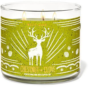White Barn Chestnut & Clove 3-Wick Candle