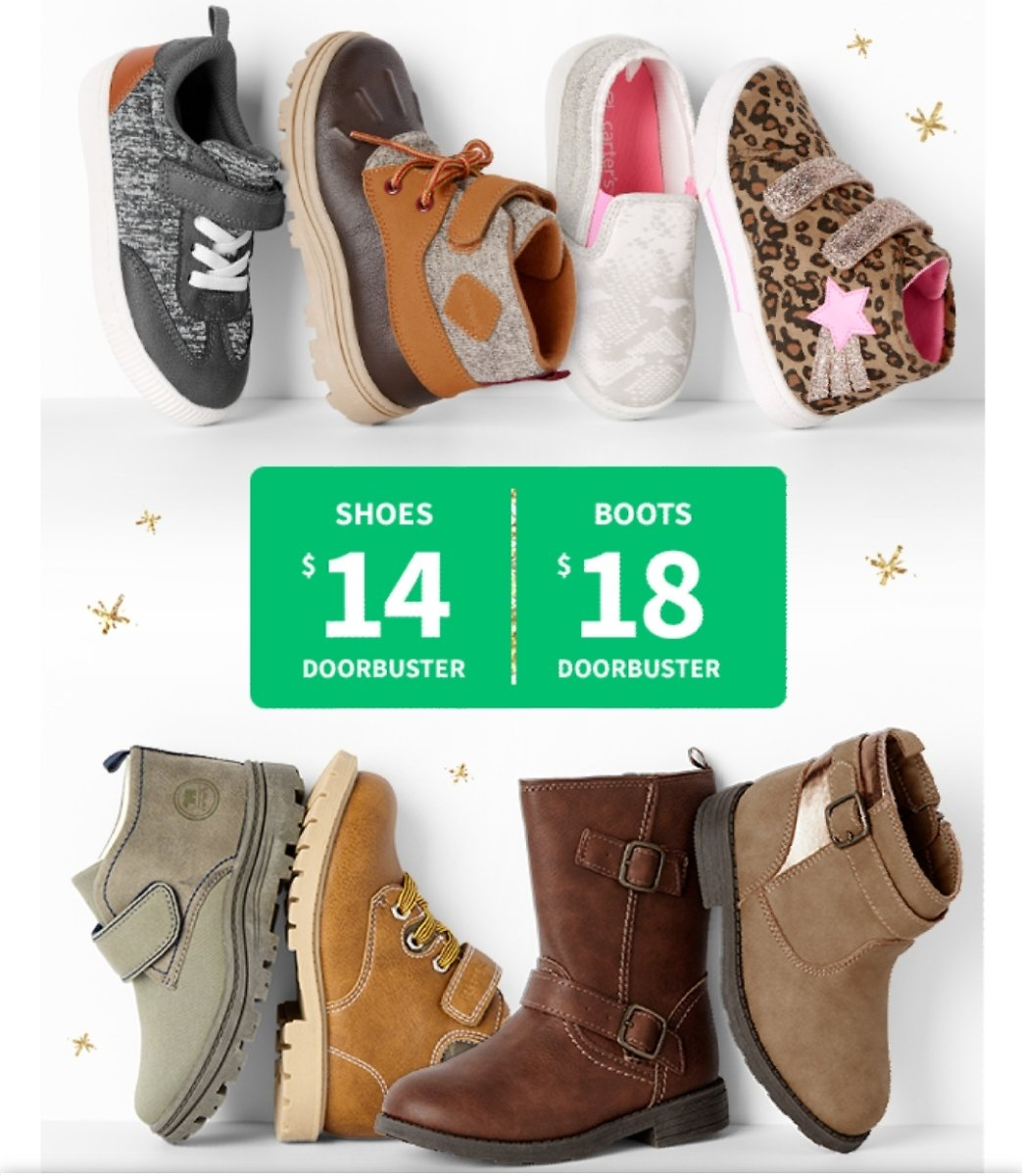 $14 Shoes  & $18 Boots + Free Shipping On orders no minimum