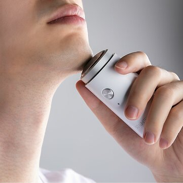 Soocas So White Ed1 Mini Portable Electric Shaver Men's Razor Waterproof Usb Charge Wet Dry Use from Ecosystem Sale - Banggood.com