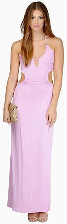 Chasing Summer Orchid Maxi Dress