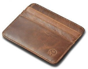 Men's Minimalist Front Pocket Wallet,Slim&Thin&RFID Credit Card Card Holder