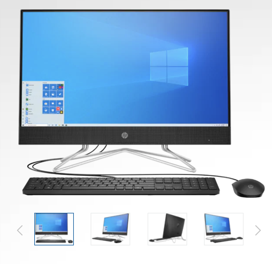 HP All-in-One 24-df0138xt 23.8-inch Desktop W/Intel Core I5