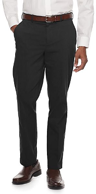 Straight-Fit Performance Stretch Dress Pants