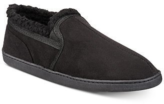 Gold Toe Men's Twin Gore Faux-Suede Slippers Shoes