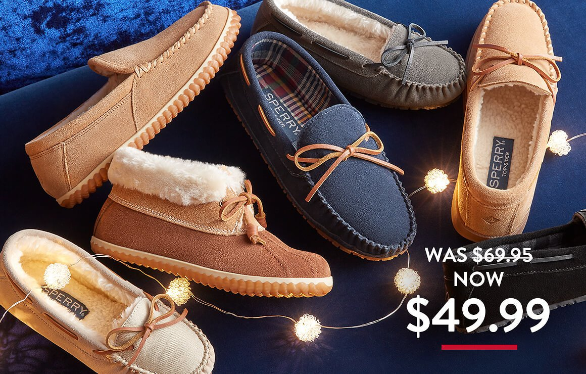 $49.99 Slippers (9 Options)