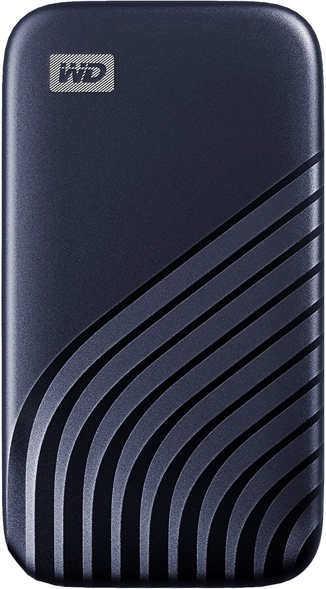 WD 2TB My Passport SSD External Portable Drive, Blue, Up to 1,050 MB/s - WDBAGF0020BBL-WESN
