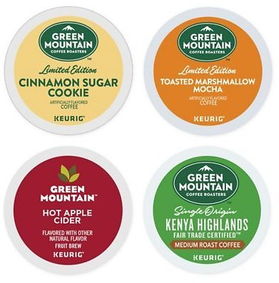 Keurig® K-Cup® Green Mountain Coffee® Collection