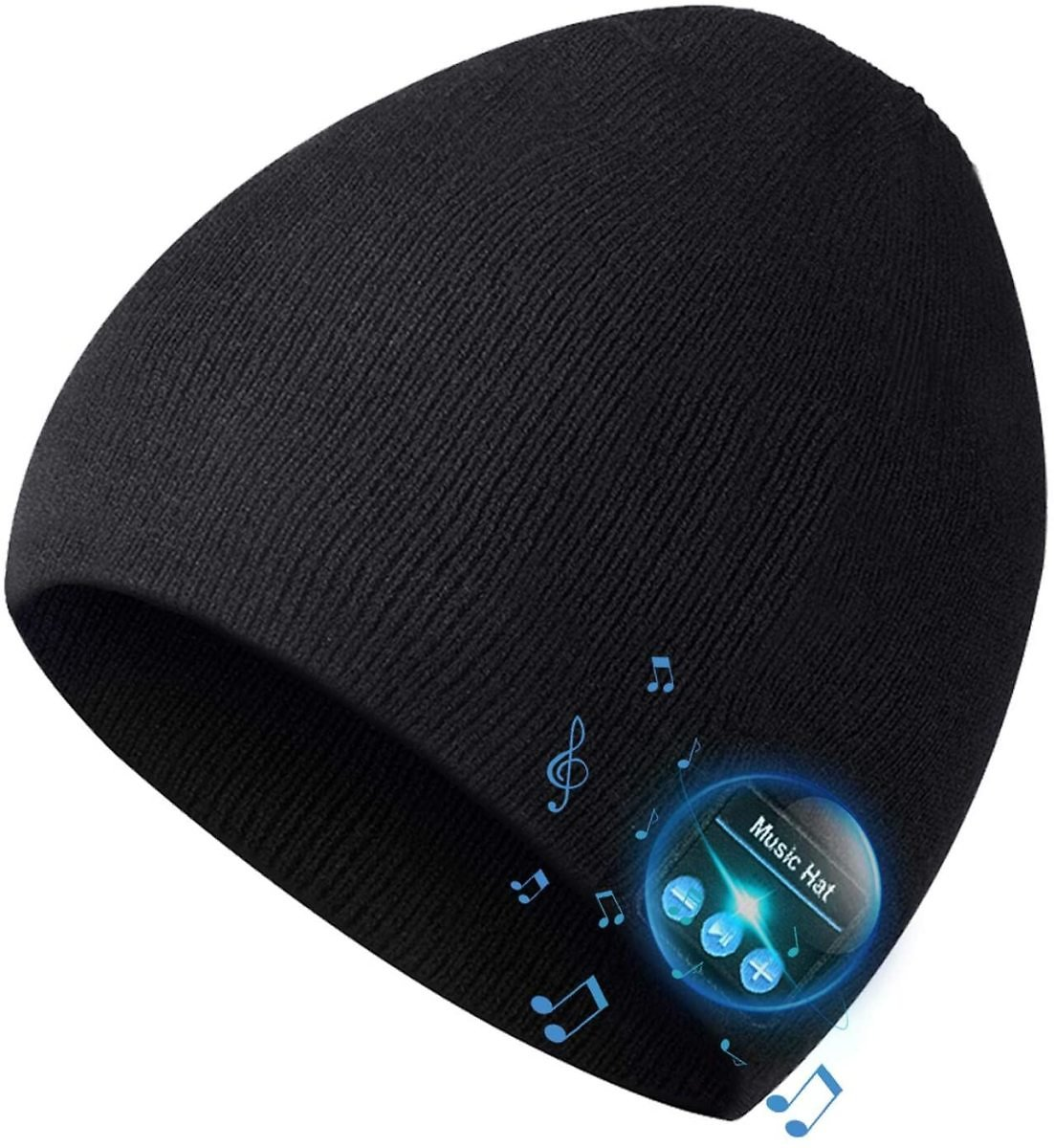 Bluetooth Beanie for Men Bluetooth Hat, Mens Gifts, Women Mens Beanie Hats with Bluetooth Headphones, for Outdoor Sports,Running