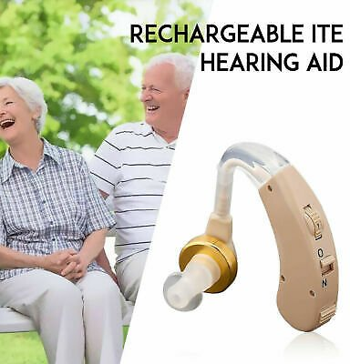 Digital Hearing Aid Severe Loss Rechargeable Invisible BTE Ear Aids High-Power