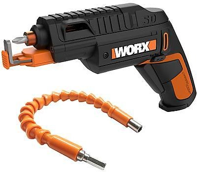 Worx 20-Volt Driver with Flex Extender and Screw Holder - 9691478 | HSN
