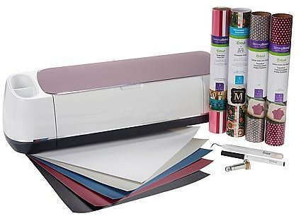 Exclusive! Cricut® Maker™ Machine with Vinyl and Iron-On Material Bundle