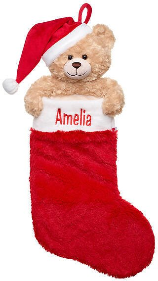 Online Exclusive Personalized Holiday Hugs Stocking