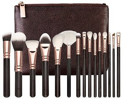Set of Brushes Face and Eye 15 Piece Zoeva Dupe
