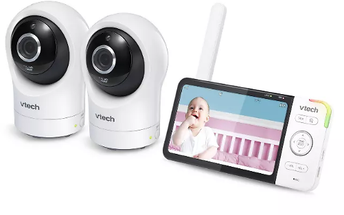 VTech Digital Video Monitor with Remote Access and 2 Cameras 5