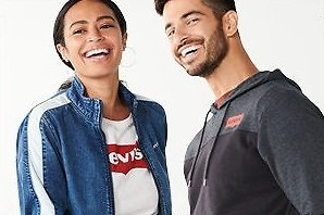 Up To 50% Off Levi's Men and Women Apparel Sale - Kohls