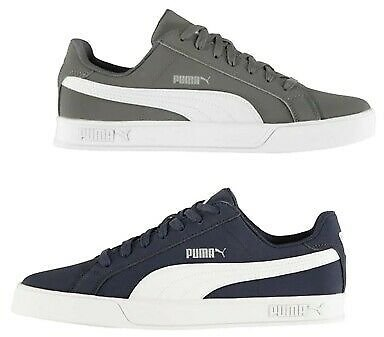 Mens Puma Footwear Cushioned Stylish Smash Vulc Trainers Sizes from 7 to 11