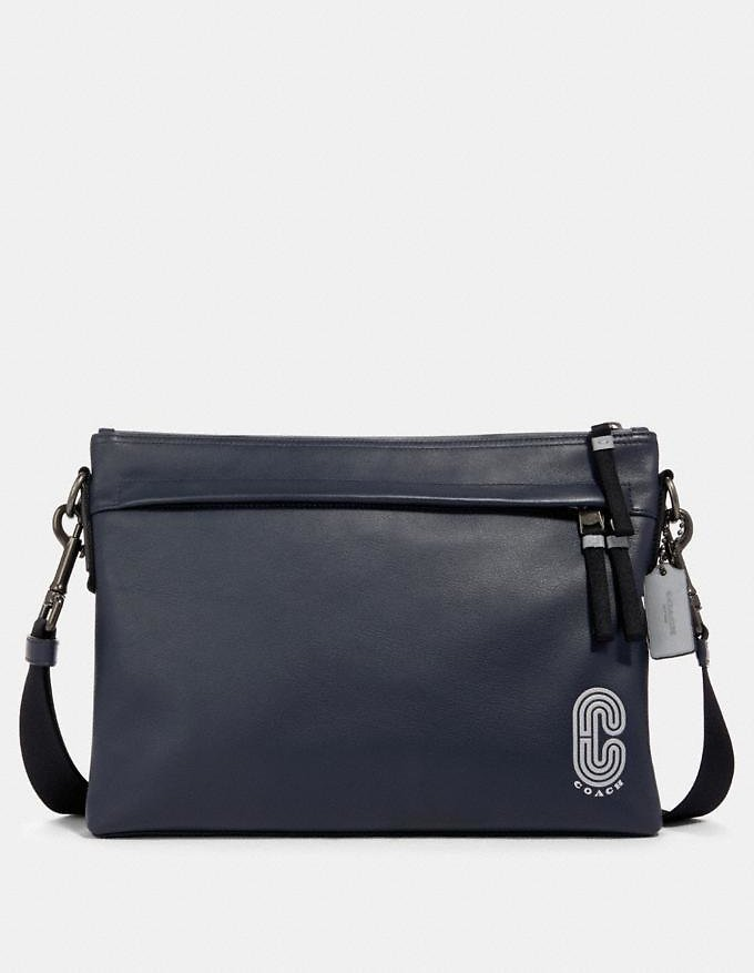 Edge Messenger with Reflective Coach Patch