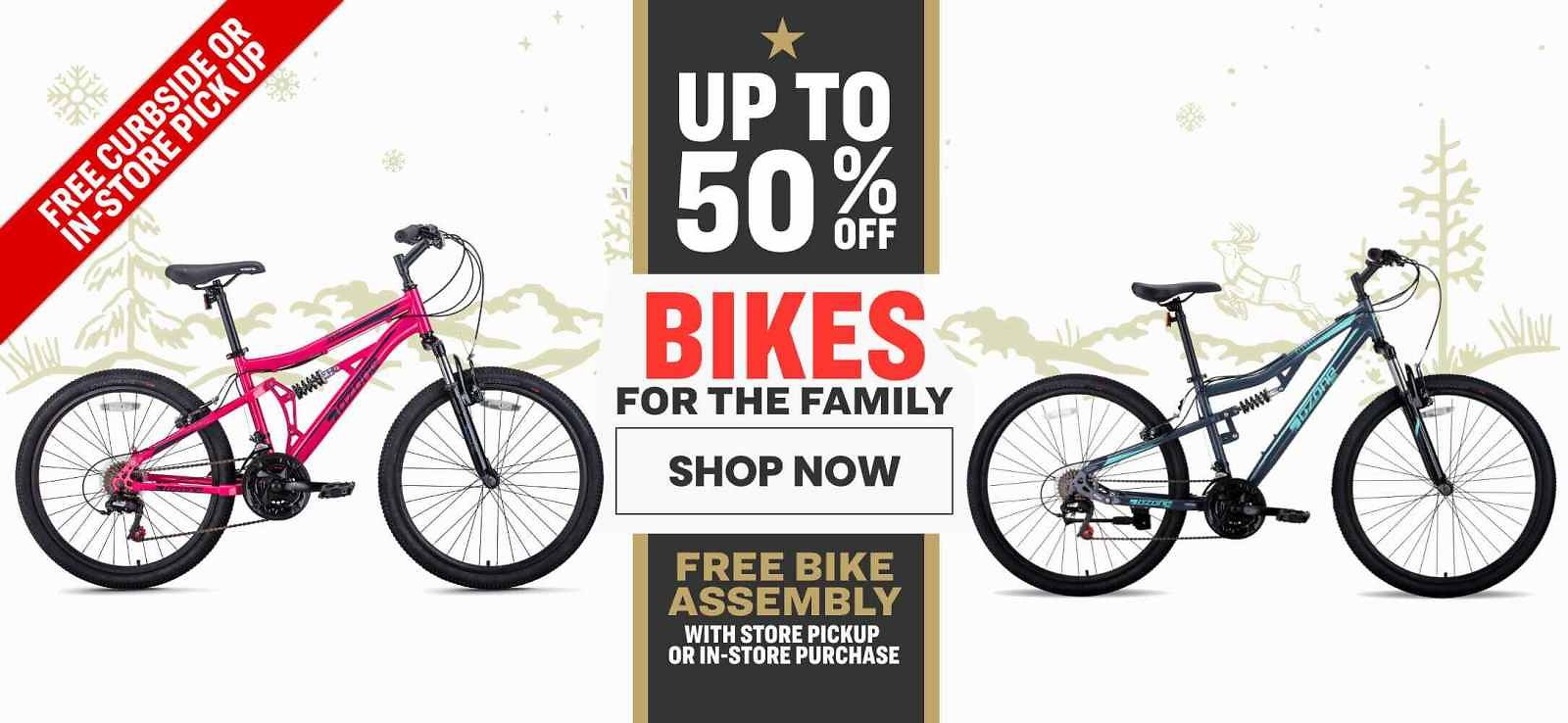 Up to 50% Off Bike For Family