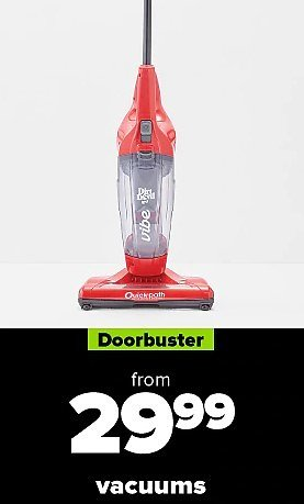 $29.99 & Up Vacuums