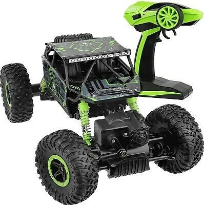 4WD RC Monster Truck Off-Road Vehicle 2.4G Remote Control Crawler Car Green 646437677684