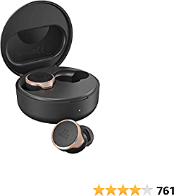 Tronsmart Apollo Bold ANC TWS Bluetooth 5.0 Headphones, Active Noise Cancelling, 30 Hours of Playtime, IPX45 Waterproof, CVC 8.0 and 6 Microphones, Touch Control, QCC5124 Chip, Mini Wireless Earbuds