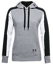 Under Armour Rival Fleece Graphic Color-Block Hoodie for Ladies   Bass Pro Shops