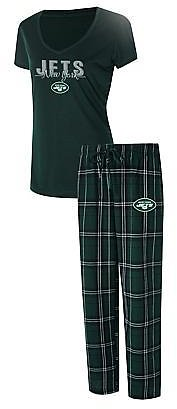 Officially Licensed NFL Ethos Plaid Pajama Set By Concept Sports
