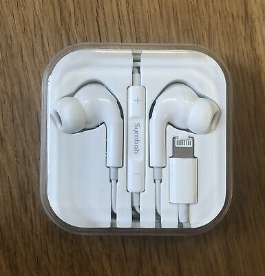 For 7 8 X XR XS Apple IPhone Lightning Headphone Earphones Mic Bluetooth Earbud